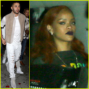 rihanna-club-night-rumored-boyfriend-karim-benzema