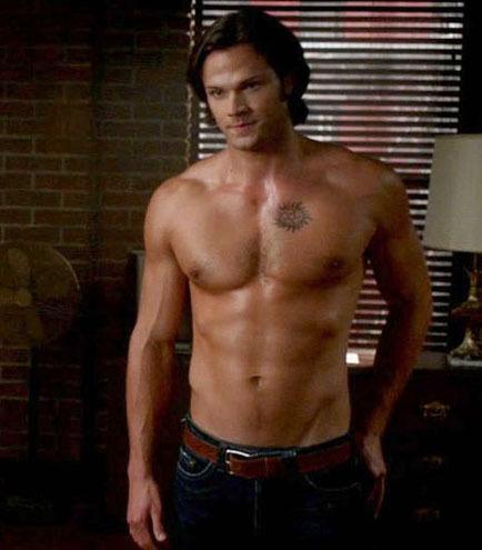 jared padalecki shirtless supernatural