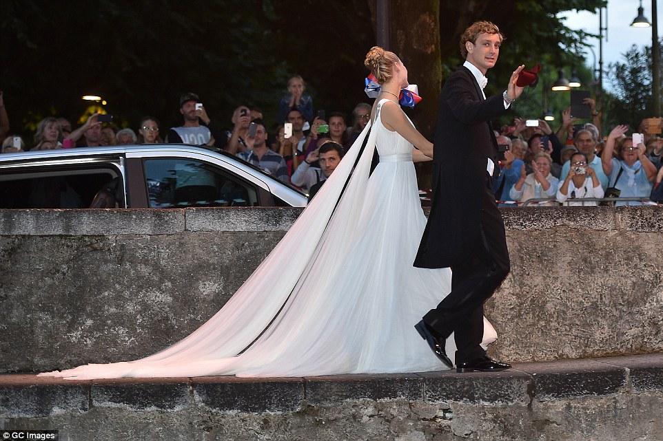 nunta lui pierre casiraghi