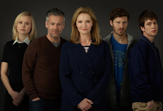 "THE FAMILY - ""The Family"" stars Joan Allen as Claire, Allison Pill as Willa, Margot Bingham as Sergeant Nina Meyer, Zach Gilford as Danny, Liam James as Adam, Floriana Lima as Bridey, Madeline Arthur as Young Willa, Rarmian Newton as Young Danny, Rupert Graves as John and Andrew McCarthy as Hank. (ABC/Bob D'Amico) ALISON PILL, RUPERT GRAVES, JOAN ALLEN, ZACH GILFORD, LIAM JAMES"
