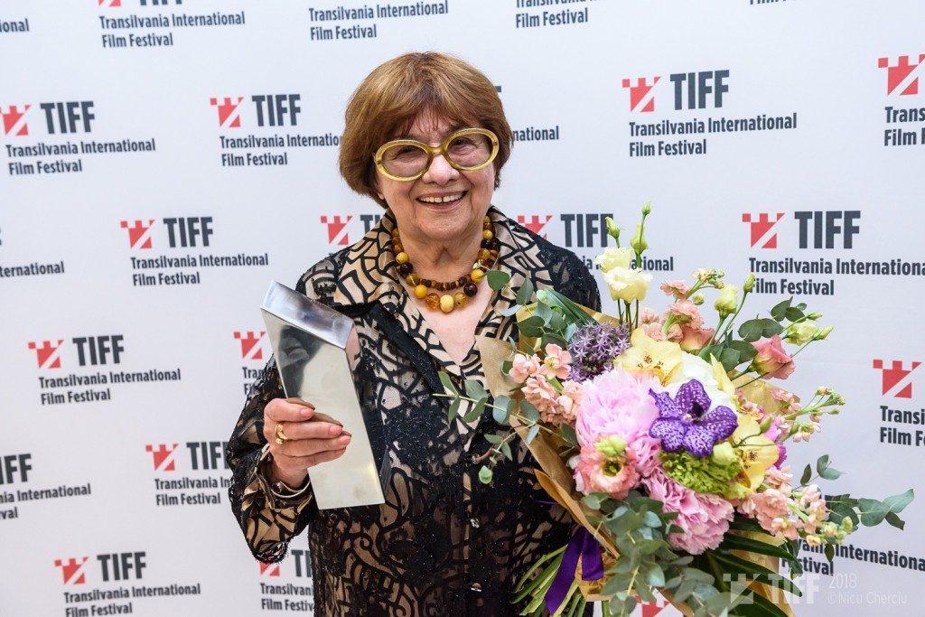 Marta Meszaros - Premiul pentru intreaga cariera - Foto Nicu Cherciu