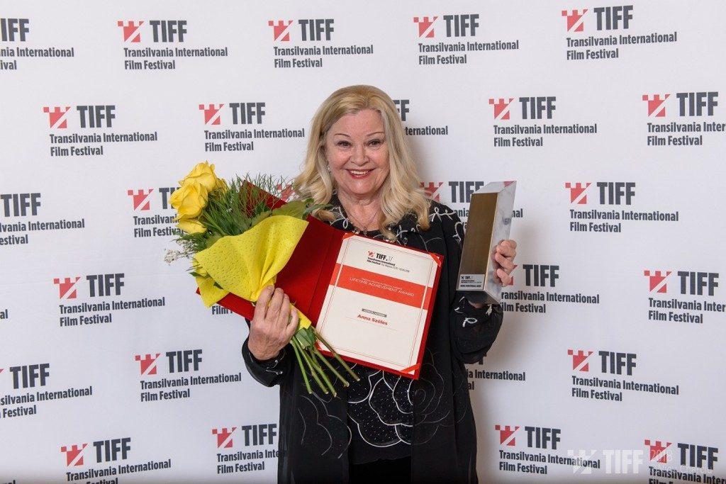 Anna Szeles - Premiul pentru intreaga cariera - Foto Nicu Cherciu TIFF 2018.jpg